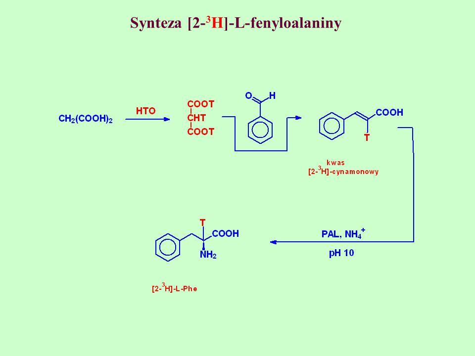 Synteza [2-3H]-L-fenyloalaniny